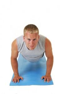 Fitness Oefening Push-ups